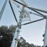 デジタルテレビ中継放送所建設工事