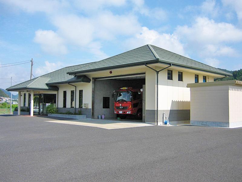 館山消防署犬掛分遣所 建設工事
