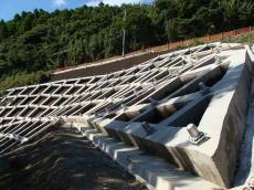 千葉県安房地域整備センター   砂防改良工事(別所・山腹工その2)